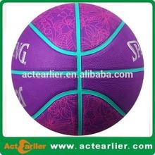 size 7 custom microfiber basketball