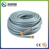 raw material 3-layer reinforcement pvc garden hose 25ft/50ft retractable garden hose as seen on tv made in China