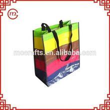 Fashion hot selling pp woven shopping bag plastic