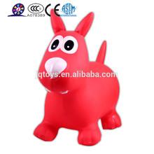 JSYT026 Kids ride on Game Animal Design Inflatable Jumping Horse for Sale