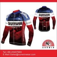 Sublimated cycling wear international custom race cycling jersey