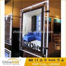 Crystal Light Box LED Advertising Light Frame