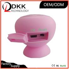 Cheapest colorful Sucker mini mushroom speaker for bluetooth device power portable amplified speaker ultra mini speaker