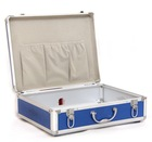 Blue Aluminum Carrying Case