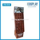single cardboard coffee display coffee stand