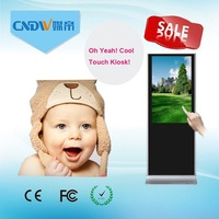 Commercial use Indoors 55inch Windows kiosk stand pc touch screen
