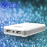 Dual Power Bank 13000mAh USB External Battery Backup Pack, Mobile Phone Power Pack, High Capacity Portable Battery Charger