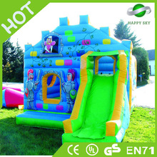 Good quality and safe inflatable fire truck slide,large inflatable pool slides,inflatable dragon slide