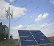 CE approved for home and office use vertical wind solar power 10kw Qingdao Richuan wind solar hybrid system