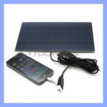 5W Portable Solar Kit for iPhone 6/6 Plus Samsung Note4 Solar Penel Kit