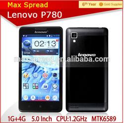 Lenovo P780 MTK6589 Quad Core mobile phone Wholesale in stock