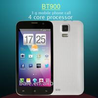 "Fashional 5"" 2 SIM card quad core mobile phone"