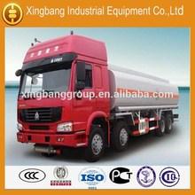 China 10- 60cbm fuel tank truck petroleum oil tanker truck