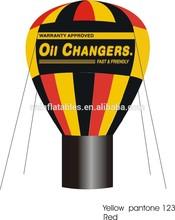 2014 fashion inflatable hot air balloon/ advertising ground balloon