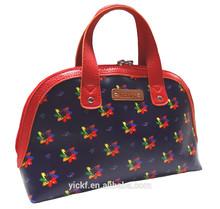 Elegant Sharp Print Hand-Carry Coated Canvas Ladies Women Mini Tote bag