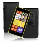 Pull Tab Vertical Belt Clip pouch cover LICHI leather case for Nokia Lumia 625 N625
