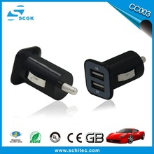 CE series car battery charger 2 port in 2015