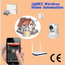 smart home automation system night vision digital camera alarm wireless cctv camera wifi P2P web ip camera