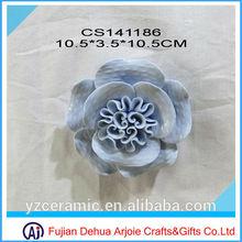 2015 Flower Items Home Decoration Ceramic Fridge Magnet