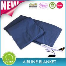 New Design Flame Retardant Airline Blanket/airplane blanket/woven airline blanket