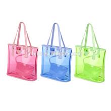 Promotion Gift Item Custom Promotion Transparent Pvc Beach Bag
