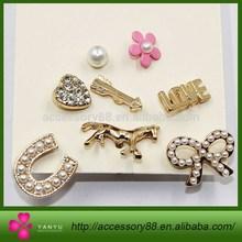 Mini gold tone stud earrings multi designs heart,horse,flower,butterfly...