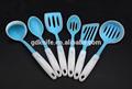 De alta calidad 6 piezas de plástico mango de silicona herramienta de la cocina, de silicona utensilios de cocina