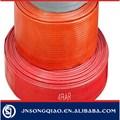 "Grand diamètre 12 "" PVC mettre à plat tuyau d'eau"