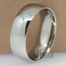 TR422 ebay hot sale for man wearing plain titanium band wedding ring