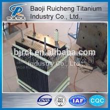 supply Titanium Anode and Cathode for sodium hypochlorite