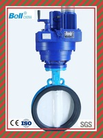 1.6 Mpa/4.0Mpa/6.4Mpa electric actuator wafer butterfly valve
