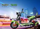 dc electric brushless motor motorcycle