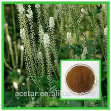Natural black cohosh extract powder, black cohosh extract 2.5%Triterpene Glycosides