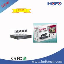 New DVR Kit!! 4pcs 700TVL CCTV Camera + 1pc 4 Channels D1 DVR CCTV Surveillance Security Equipment System