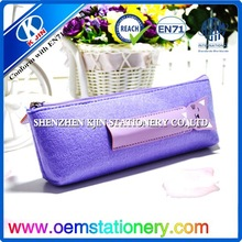 Children stationery soft cotton pencil bag/school pencil pouch
