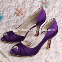 (14 Colors) Purple Ladies Shoes Hills