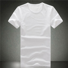 washed manufacter viscose/cotton womens sexy vneck tshirt 2014