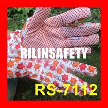 RILIN SAFETY Quality Work Safety Garden Nylon \/ Polyester gloves nitrile coa , oil resistant industrial cleanroom nitrile glove