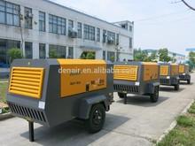 Diesel Portable Screw Air Compressor cfm