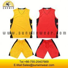 Team sublimation logo printing design basketball tops/vest