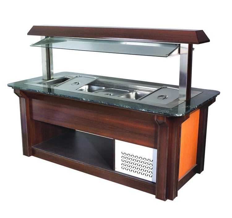 Industrial Refrigerators And Freezers Buffet Counter/Salad Bar/Open Salad Showcase Refrigerators ...