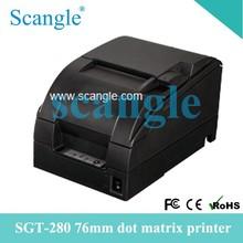 New advanced Epson/ Star Printer Head 76MM Dot Matrix Printer