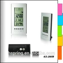 music alarm cheap weather station clock