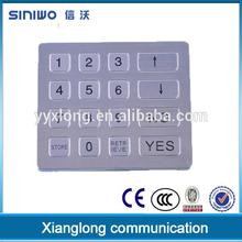 teclados numericos ip67 stainless steel matrix vandal proof keypad