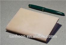 2014 new design leather handmade passport holder /passport bag