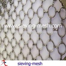 Metal Mesh Drapery,Metal Ring Mesh Curtain Wall, Indoor Mesh Screen