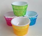 Recycle plastic colorful ice Waffle Ice Cream Dish