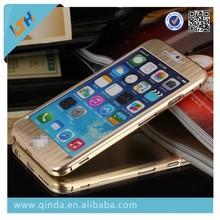 Brushed Titanium Metal Case For iPhone 6 4.7/For iphone Plus 5.5