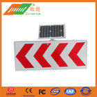 road safety instructions solar round road signs