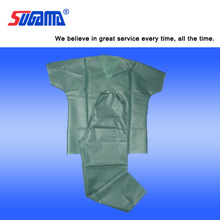 Surgical comfortable patient gown children patient gowns